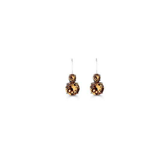 Hazelnut Drop Earrings (E4679)