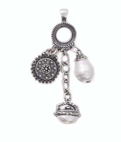 Pearls Of Love Pendant  (EN897)
