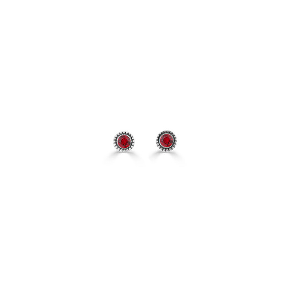 Siam Expression Stud Earrings ( E4734 ) -£15