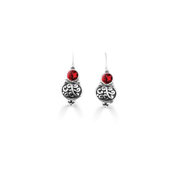 Scarlet Amour Drop Earring  (E4738)