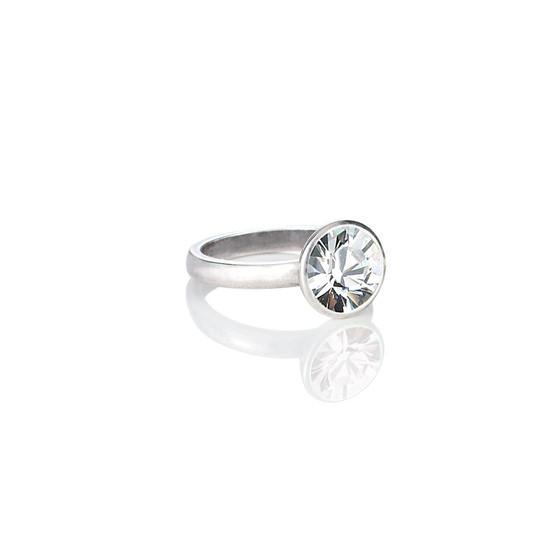 Bold Glam Rock Crystal Ring (RR138 K/N/P/R)