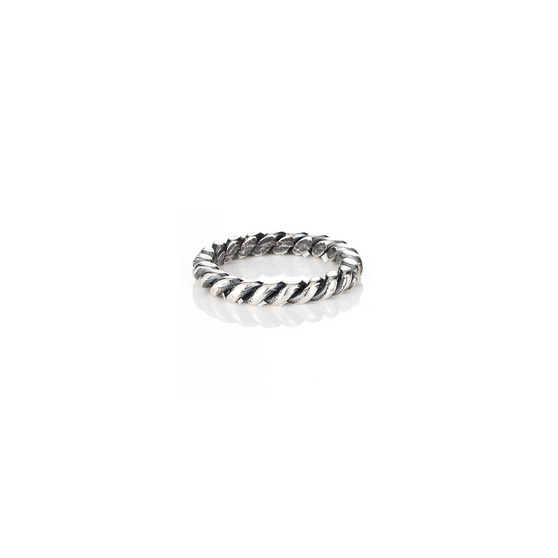 Rope Detail Stackable Band  (RR118 K/N/P/R)