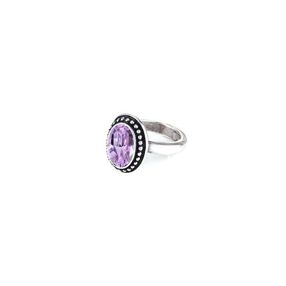Navaho Oval Violet Ring ( RR338 K/N/P/R )