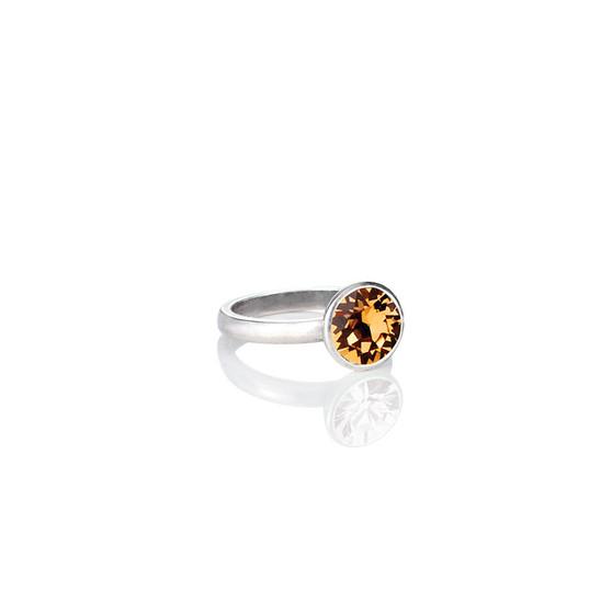 Glam Rock light Colorado Topaz Ring ( RR341 K/N/P/R )