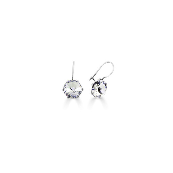 Spirit Of A Woman Crystal Drop Earrings ( E4749 )