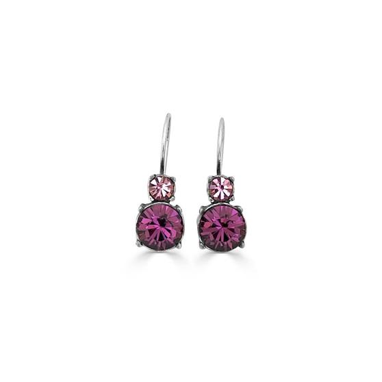 Royal Amethyst Drop Earrings