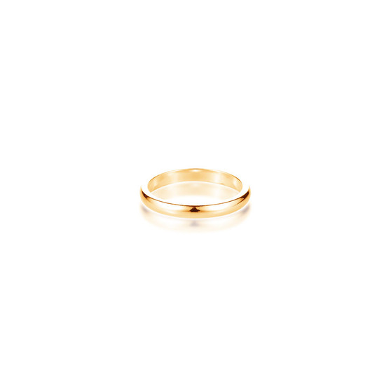 18ct Gold Vermeil Petite Stacking Ring Band
