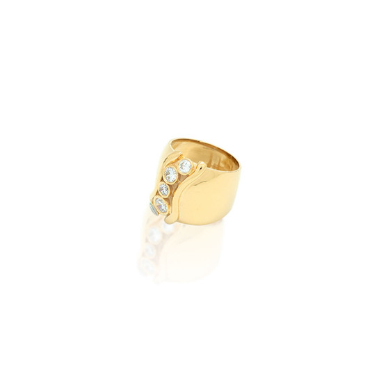 18ct Gold Vermeil Icon Ring