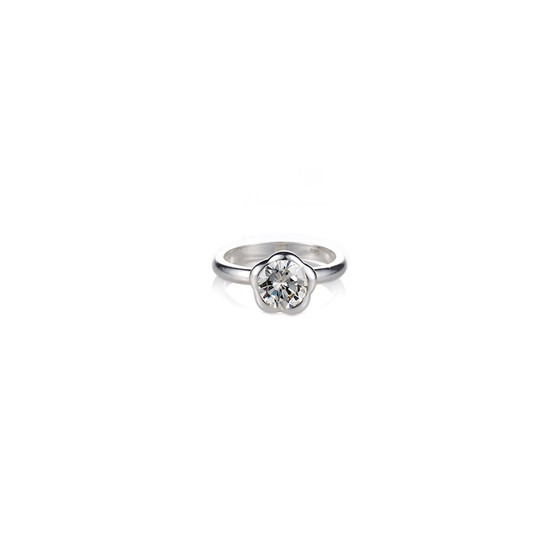Floral Sentiments Ring - Sterling Silver 925
