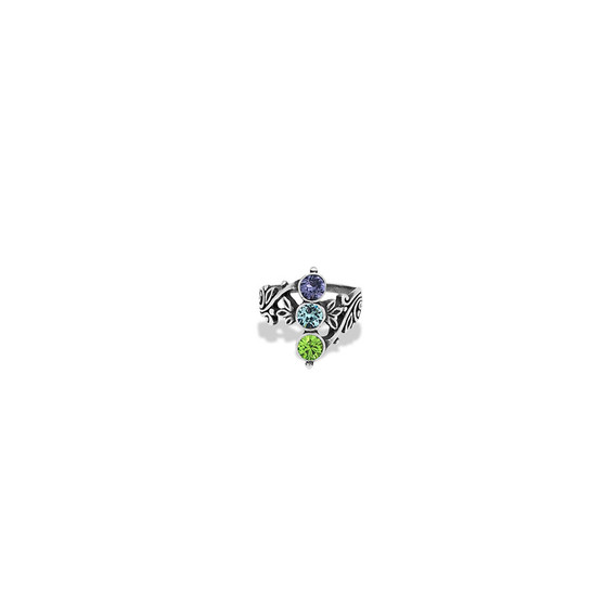 Sterling Silver 925 Sage Taylor Ring - Sterling Silver 925