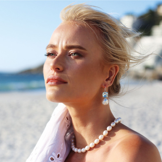Clifton Pearl Necklace - N2110 - £160