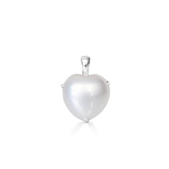 Clifton Pearl Heart Pendant