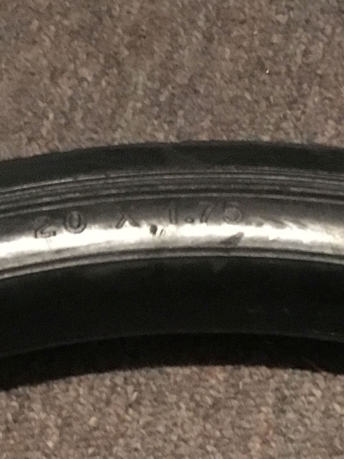 Vintage Bicycle tire solid rubber tire vintage bicycle parts Clipper tire