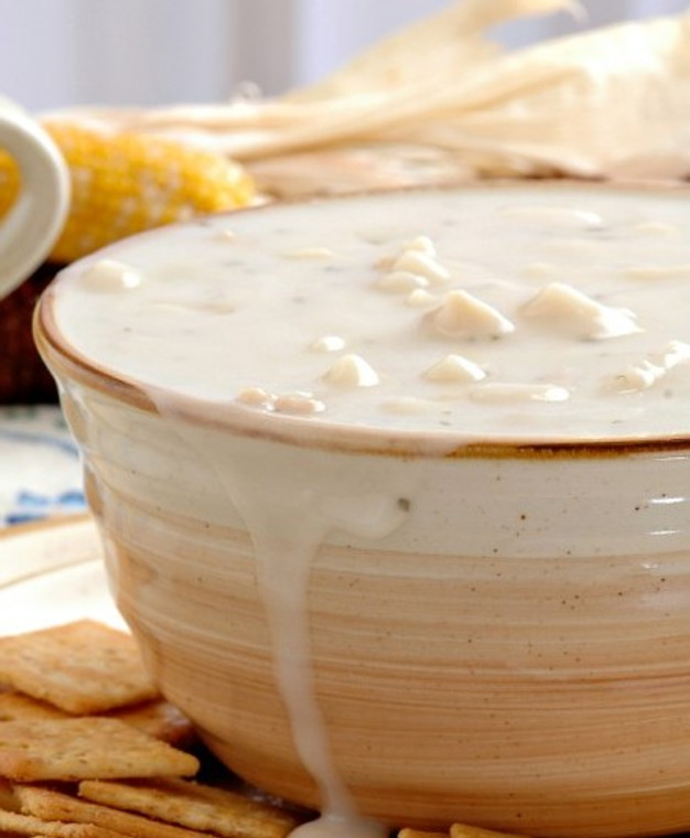 New England Clam Chowder. Buy 3 Month Soup of the Month Basket online at Bes'Dam Soup