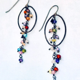 Contemporary& Colorful Earrings