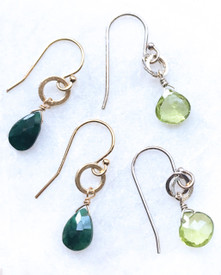 May is Emerald ( left) and Peridot (right)  is August