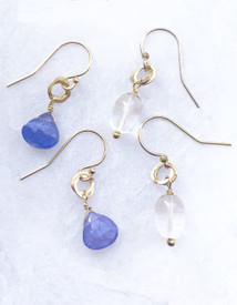 December is Tanzanite and for May,  Quartz Crystal to represent diamond.