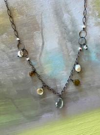 Beautiful medley of semiprecious stones