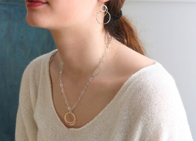 Simple perfection in a necklace