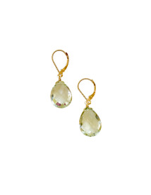 Simple but beautiful green amethyst- ready to go anywhere!