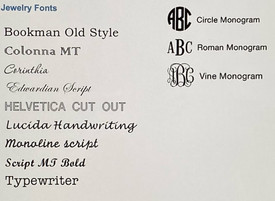Choose your favorite font