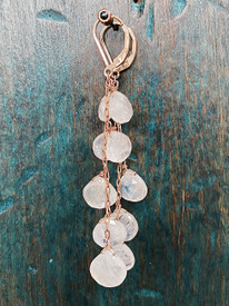 Gorgeous Moonstone Earrings. Each pair made expressly for you.
