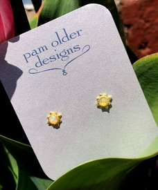 Opal Vermeil Studs a perfect gift for teens!