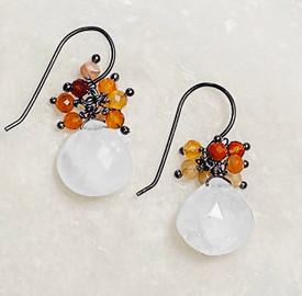 Moonstone Hope Earrings  Pam Older Designs