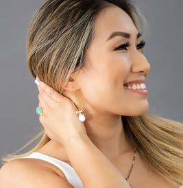 Emme Keshi Pearl Earrings