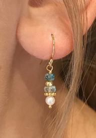 Blue semi precious stones