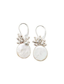 Our Coin Pearl earrings as seen in Sundance Catalog!