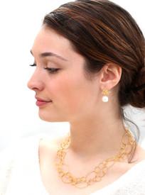 Double it and wear short!   earrings: https://www.pamolderdesigns.com/earrings/customer-favorite-earrings/three-flower-pearl-earring/