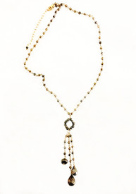Pyrite wire tapped chain