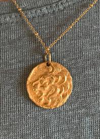 Ancient Lion Necklace