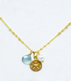 Diamond Compass Necklace