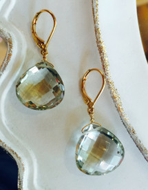 The best green amethyst for instant glamour.