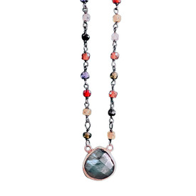 Labradorite Multicolor Necklace