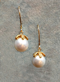White South Sea Pearls earrings