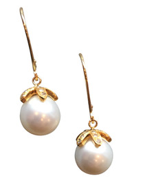 South Sea Pearls in 18k gold and diamonds