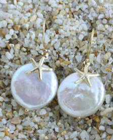 Getting married by the sea? These pearl earrings would make a meaningful bridesmaids gift.