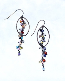 Coordinating Flutter Earrings https://www.pamolderdesigns.com/earrings/colorful-cz-dangle-earrings/
