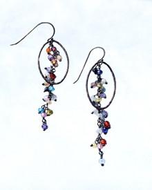 Coordinating Flutter Earrings https://www.pamolderdesigns.com/earrings/colorful-cz-dangle-earrings/