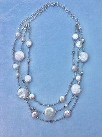 Signature Pearl Thai Silver Necklace