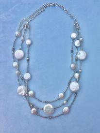 Signature Pearl Thai Silver Necklace
