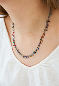 Coordinate with this Flutter Necklace