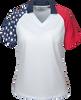 236-PTM Ladies' Patriotic Polo