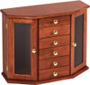 Canted Jewelry Armoire