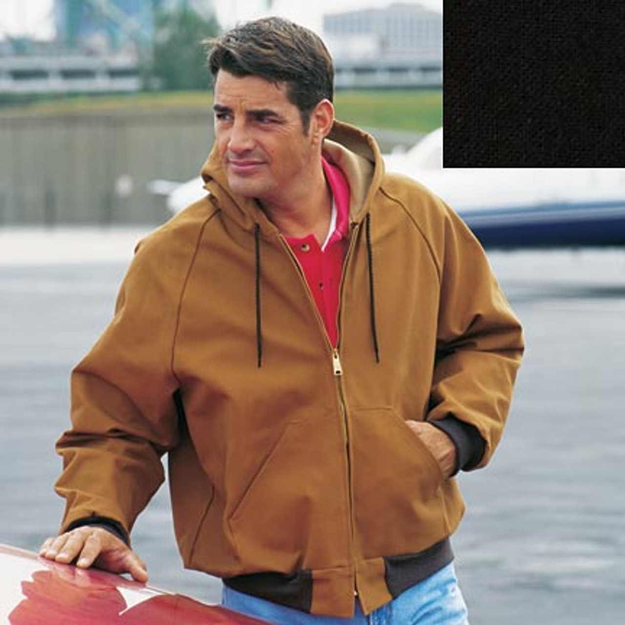 Cumberland Hooded Canvas Duck Jacket by King Louie