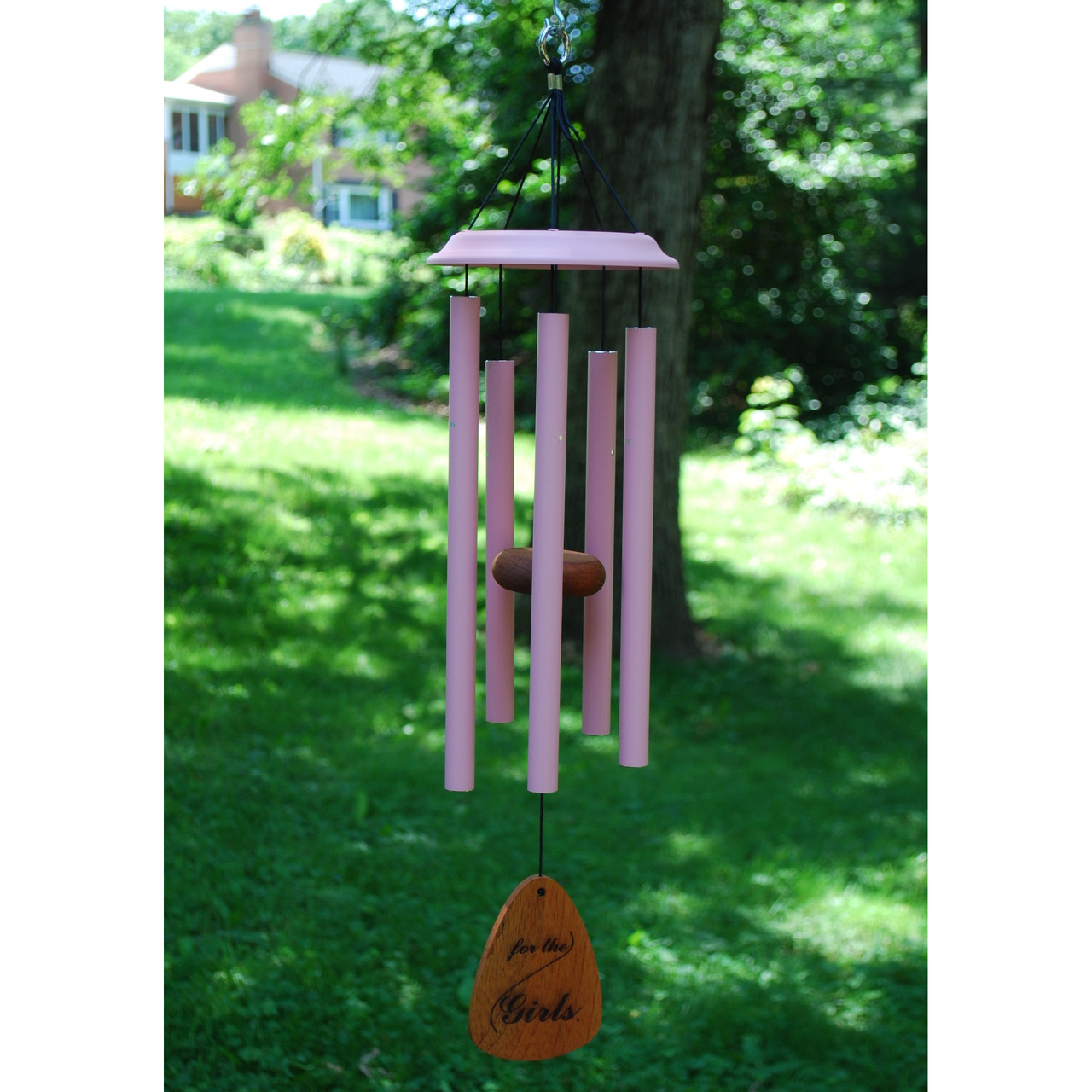 For the Girls® 25-inch Pink Wind Chimes