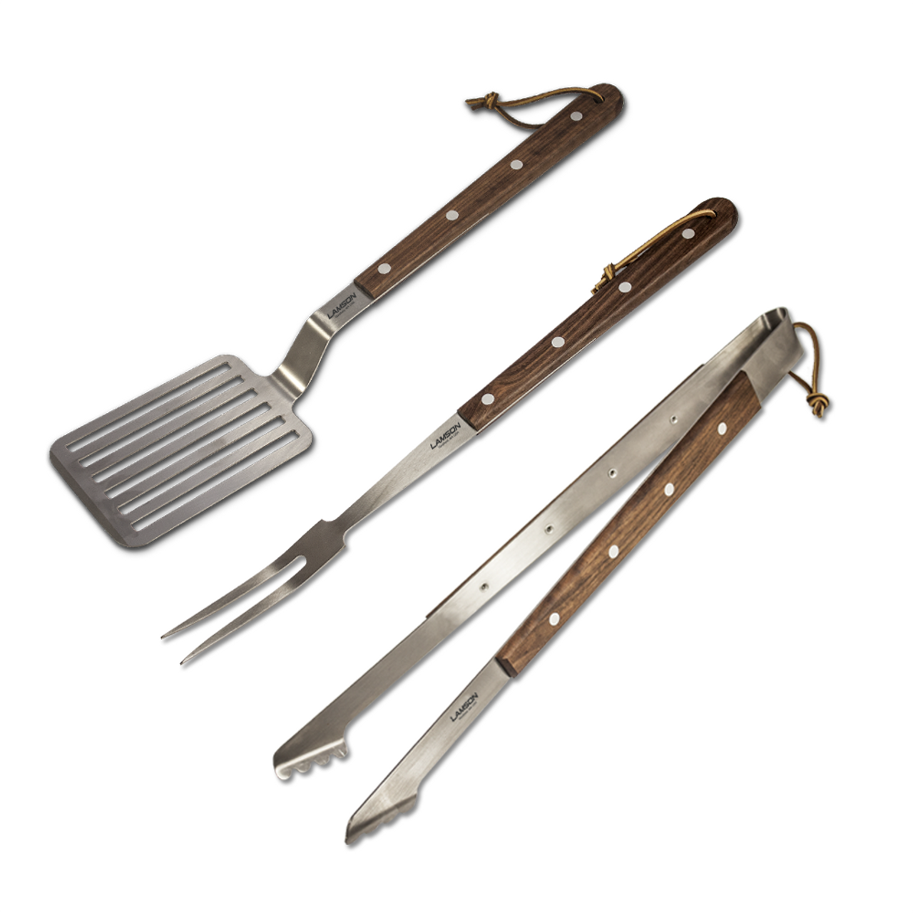 Lamson Premier 3 Piece Barbecue Set 20""